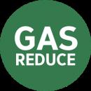 gas reduce